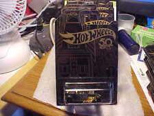 Hot Wheels Black and Gold 50th Anniversary Bone Shaker