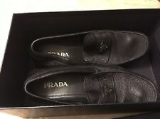MENS PRADA CALZATURE UOMO SIZE 10 - USED ~ GREAT SHAPE