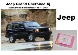 JEEP CHEROKEE XJ  97-01 Instrument & warning lights 24 LED KIT