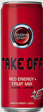 24 Dosen a 0,33L Take Off Red Fruit Energy Drink inc. Pfand