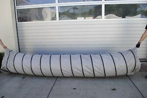 Warmluftschlauch Ø 525 mm, verschiedene Längen bis 20 m
