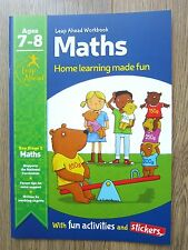 Year 3 Maths Workbook Educational Activity Book Home Learning Children aged 7 8