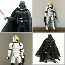 "3.75"" Star Wars Clone Wars STORMTROOPER Pilot Darth Vader 2005 action figure"