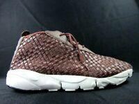 Nike Air Footscape Desert Chukka Woven Men's Running Shoes Sz 12.5 (652822-201)