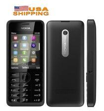 Nokia Asha 301(T-Mobile) 256MB 3.2MP MobilePhone  Black MP3 FM Radio