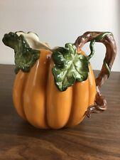 New listing Kaldun & Bogle Porcelain Pumpkin Pitcher - Fall, Halloween