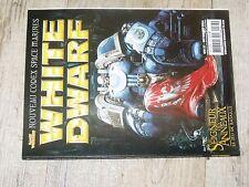 $$$ Revue White Dwarf N°127 SdA Jeu de BatailleSpace MarinesMiddenheim