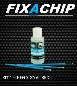 KIA CAR TOUCH UP PAINT - CODE  BEG - SIGNAL RED (KIT 1)