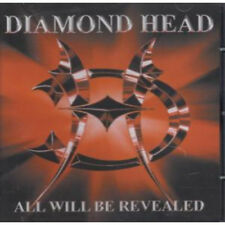 NWOBHM DIAMOND HEAD All Will Be Revealed CD European Livewire 2005 12 Track