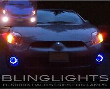 White Halo Fog Lamps Driving Lights Kit for 2006 2007 2008 Mitsubishi Eclipse