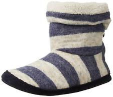 Bedroom Athletics Women's Pixie Boot, Denim/Cream, Small/5-6 M US