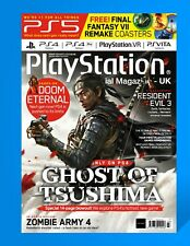 PlayStation Magazine Issue 172 March 2020 PS4 Ghost Of Tsushima NEW Sealed