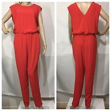 09f028930c4 New listingZARA RED LONG JUMPSUIT WITH SHOULDER ZIPS