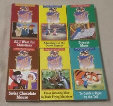 Lot 6 COUNTRY MOUSE AND THE CITY MOUSE Vhs Videos Reader's Digest Young Families