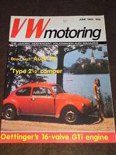VW MOTORING - AUDI 90 ROAD TEST - June 1985