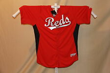 "CINCINNATI REDS  Authentic  MAJESTIC  ""Cool Base""  JERSEY   size 50  NWT"