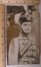OLGA ROMANOV Russian Royalty vintage press photo Russia 1917