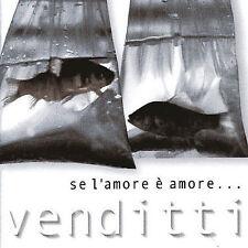 Se L'amore e Amore: Best of Antonello Venditti CD USED VG FREE SHIPPING Italian