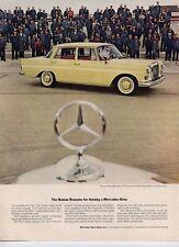 1963 Mercedes-Benz 190 Sedan Gas or Diesel PRINT AD