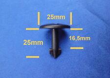 10x Motorschutz Radhaus Unterfahrschutz Clips Befestigung Klips schwarz 30B