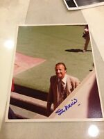 STAN MUSIAL SIGNED ORIGINAL 1979 PHOTO FROM STAN MUSIAL ESTATE COLLECTION JSA