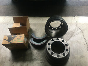 Freightliner Columbia Front Drums And Shoe Replacement