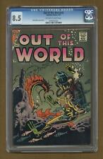 Out of this World #5 CGC 8.5 1957 0794355020