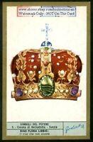 The Crown Of Bernadotte Sweden c40 Y/O Trade Ad Card