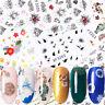 3D Nagel Aufkleber Abziehbilder Vintage Nail Art Dekoration Transfer Sticker
