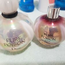 Due profumi Christian Dior Pure Poison Donna floral elixir 100 e 50 ML refill