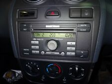 Ford fiesta MK6 6000 reproductor de CD y código 6S61 18C815 AJ