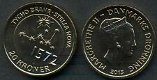 DENMARK 20 Kroner 2013 Tycho Brahe UNC
