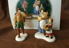 Dept 56 New England Village 2000 Accessory 2 Pc Best Of The Harvest 56642