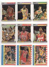 Fleer Rookie Michael Jordan Set Basketball Trading Cards For