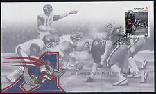 Canada 2576 on FDC  - CFL, Football, Montreal Alouettes