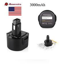 9.6 Volt Ni-Cd PS120 Battery for Black & Decker FireStorm 3000mAh Cordless Drill
