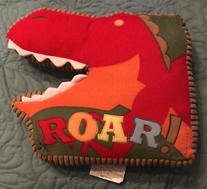 Circo Roar 'n Stomp Dinosaur Head Decorative Plush Pillow Target Kids Bright