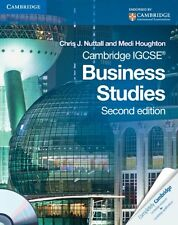 Cambridge IGCSE Business Studies Coursebook with CD-ROM (Cambridge International