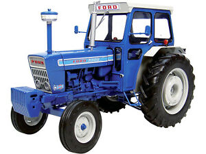 FORD 7000 TRACTOR W/CABIN BLUE 1/16 DIECAST MODEL BY UNIVERSAL HOBBIES UH2798