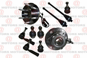 For Cadillac Chevy Gmc Wheel Bearing Hub Assembly Front Steering Linkages Joints