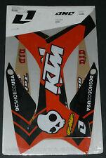KTM 125 SX 250 SXF 450 RADIATOR SCOOP SWINGARM GRAPHICS SX 150 SXF 350 2011 2012