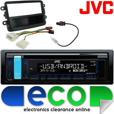 DACIA DUSTER 12-15 JVC CD MP3 USB AUX iPod stereo auto radio kit di montaggio DC01