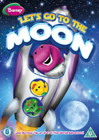 Barney: Let's Go to the Moon DVD (2013) Jerad Harris, Holmes (DIR) cert U