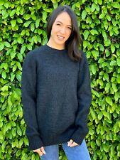 Tasso Elba Men's 100% Cashmere Grey Sweater | Size: Small