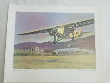 Fokker Trimotor A.M. Leahy US Marine Corps art collection