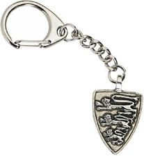 Medievil Heraldic 3 Lions Handcrafted from Solid Pewter In UK Key Ring (WA)