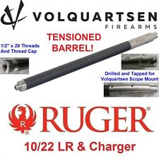 "VOLQUARTSEN Stainless/Carbon Fiber THM .920"" Bull Barrel Ruger 10-22 & Charger"