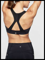 Athleta NWT Women's Contender Bra Size Small Color Black