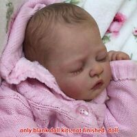 """Reborn Baby Doll 20"""" New Born Life like Tink Vinyl Unfinished Unpainted Gift Kit"""