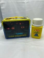 Vintage Close Encounters Of The Third Kind Lunchbox And Thermos